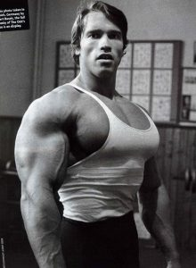 Arnold using steroids